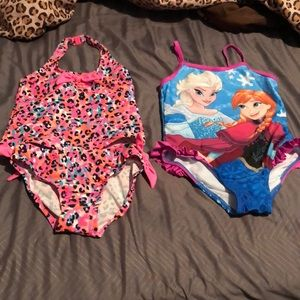 Toddler swimsuit bundle ..